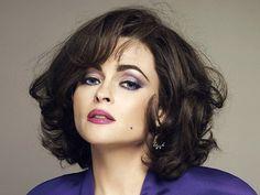 Helena Bonham Carter as Elizabeth Taylor in Burton and Taylor