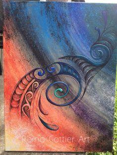 Reina Cottier Art ~ Legend Series Maori Designs, Frank Morrison Art, Maori Patterns, New Zealand Art, Nz Art, Maori Art, Kiwiana, Sharpie Art, Art Carved