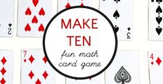 A simple to learn and fun math card game that teaches kids ways to make 10 using addition and subtraction skills.