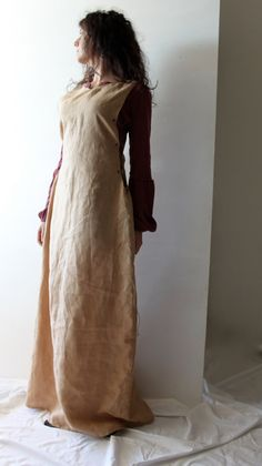 Medieval Dress Linen Tunic Dress Long dress medieval by LoreTree, €95.00