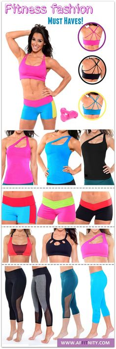 Cute workout clothes made with high performance fabrics that are fully breathable and provide you exceptional fit and freedom of movement.