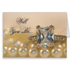 Shop Princess Diamond Ring Pearls Be My Bridesmaid Invitation created by loraseverson. Personalize it with photos & text or purchase as is! Fairytale Wedding Invitations, Wedding Rsvp, Wedding Cards, Fall Wedding, Wedding Ideas, Wedding Thank You Postcards, Save The Date Postcards, Wedding Response Cards, Engagement Rings Princess