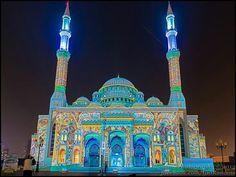 Al Noor Mosque - Al Sharga-UAE