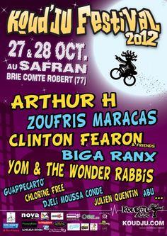 Koud'Ju Festival - 2012 - Partenariat la-seine-et-marne.com