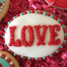 Valentine Love Cookie