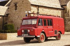 1965 Land Rover Series 2 fire engine