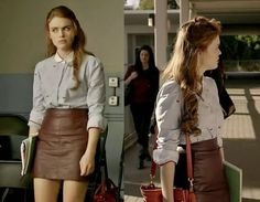 The Twins' Wardrobe: Style Crush: Lydia Martin