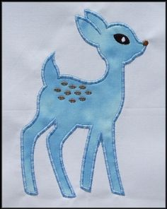 deer applique
