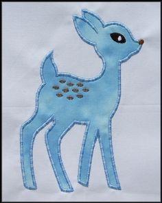 INSTANT DOWNLOAD Pet Deer Applique designs