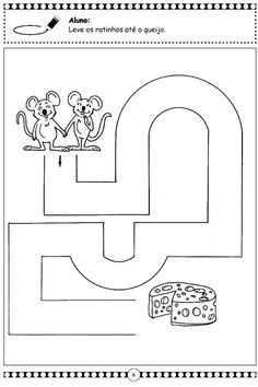 Crafts,Actvities and Worksheets for Preschool,Toddler and Kindergarten 4 Year Old Activities, Preschool Learning Activities, Preschool Activities, Kids Learning, Mazes For Kids Printable, Printable Preschool Worksheets, Free Printable, Senses Preschool, Free Preschool