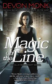 Book 7 in the Allie Beckstrom urban fantasy series published by Roc. Cover by the amazing artist, Larry Rostant.