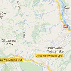 Mapa Białka Tatrzańska | Plan miasta Białka Tatrzańska Przewodnik