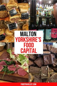 When you're in Northern England take the time to visit Malton, Yorkshire's Food Capital. Wander from shop to shop at and you'll be impressed with all the local vendors. From bakeries, ice cream to meats and cheeses. You'll find that there is something for everyone.  #MadeInMalton #Malton