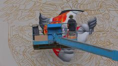 Versace x POW! WOW! Mural by Tristan Eaton. POW! WOW! Hawaii has teamed up with California street artist Tristan Eaton to paint a mural for ...