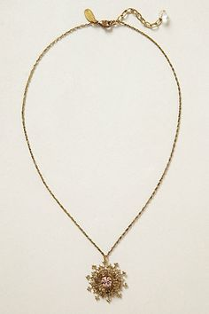 Matching Arrowed Snowflake Necklace by Anton Heunis @Anthropologie.