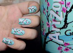 Nail Art Arizona / Cherry Blossom • Lizana Nail Art