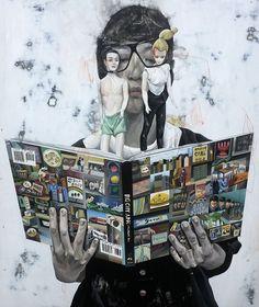 Shih-Yung Chun, Paintings. Fascinating paintings... - SUPERSONIC ART