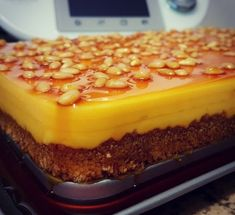 Pastel rápido de queso al caramelo en Thermomix® Flan, Sweet Recipes, Cake Recipes, Banana French Toast, Food Cakes, Sin Gluten, Food To Make, Sweet Treats, Food And Drink