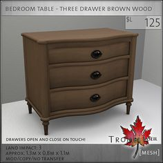 bedroom-table-three-drawer-brown-L125