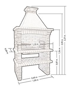 Image result for barbecue dimensions