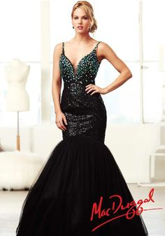 MacDuggal 64638H Dress at Peaches Boutique