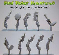 Lykan Close Combat Arms