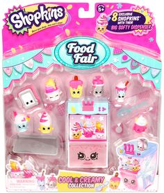 SHOPKINS FOOD DELUXE PACk - Planet Fun. We love the Cool and Creamy collection- the perfect gift for the hot summer months!