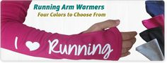 Running arm warmers - LOVE LOVE LOVE the arm warmer they do! $19.99