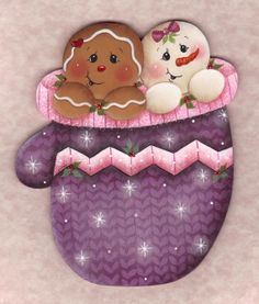 Winter Friends Ornament E-Pattern