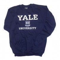 Yale - Crest - Sweatshirt (Navy)