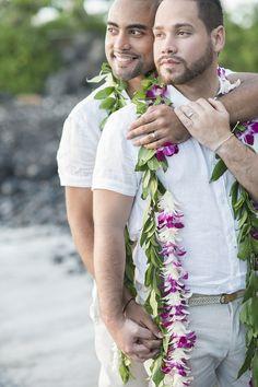 Maui Gay Wedding Photography | Trish Barker Photography www.TrishBarkerPhotography.com