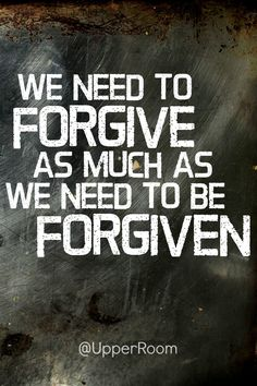 Dear God, help us to remember the forgiveness you have shown us. Give us strength to offer that forgiveness to others.