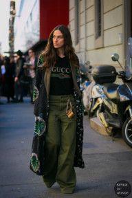 STYLE DU MONDE / Milan Men's FW 2017 Street Style: Erika Boldrin  // #Fashion, #FashionBlog, #FashionBlogger, #Ootd, #OutfitOfTheDay, #StreetStyle, #Style