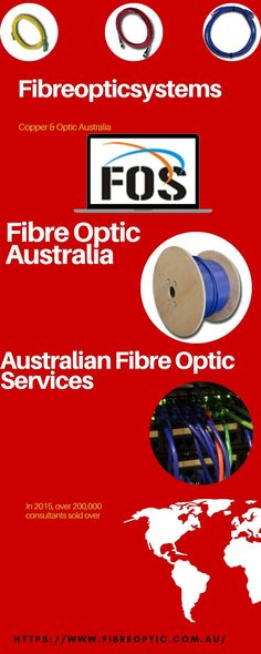 Fibre Optic Systems(FOS) is a fibre optic supplier & manufacturer in Australia, specialising in fibre optic cords, cables & fibre optic test equipment Fiber Optic, Communication, Copper, Delivery, Technology, Design, Products, Tech, Tecnologia