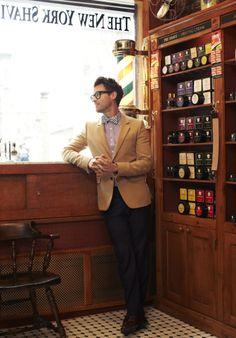bow tie @ The New York Shaving Company