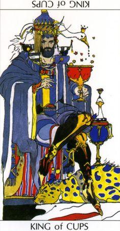 Yoshitaka Amano- King of Cups