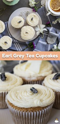 These Earl Grey Tea Cupcakes are perfect for tea time. Sip a warm cup of tea as you snack on these tasty Earl Grey Tea-flavored cupcakes. Our Earl Grey Tea Cupcake Recipe is simply sweet and ready to taste in no time!