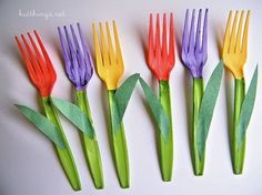 FLOWER PROJECTS: Tulip Forks