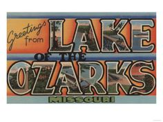 Missouri - Lake of the Ozarks Poster at AllPosters.com