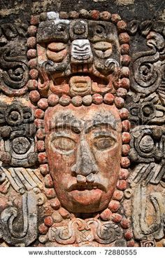 Mayan relief ...
