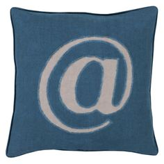 Surya Where its @ Decorative Pillow Teal Poly Fill - LX004-2020P