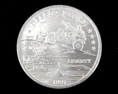 """1991 Uncirculated Desert Storm """"Top Secret Weapon"""" Commemorative Coin from the New Queensland Mint!. Starting at $15"""