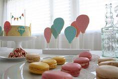 Inspiración para babyshower o cumpleaños de niños pequeños