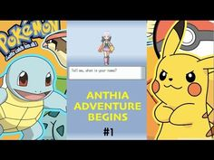 POKEMON DIAMOND- ANTHIA's ADVENTURE BEGINS - YouTube Video #pokemon #anime