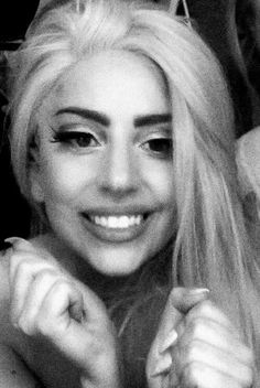 Lady Gaga and her smile ♡♡