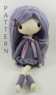 Lilly 13 Amigurumi Doll Crochet Pattern PDF by CarmenRent on Etsy