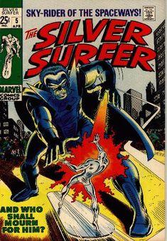 Silver Surfer #5, John Buscema