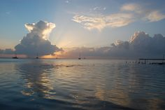 Caye Caulker sunset