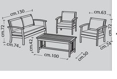 (Tmb) Iron Furniture, Steel Furniture, Furniture Design, Patio Chairs, Outdoor Chairs, Outdoor Furniture, Woodworking Furniture Plans, 3d Home, Sofa Set