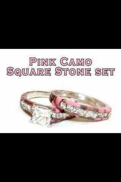 I seriously want this when I get married. I love pink camo so why not have a pink camo wedding set. I would be really happy if I got this(: